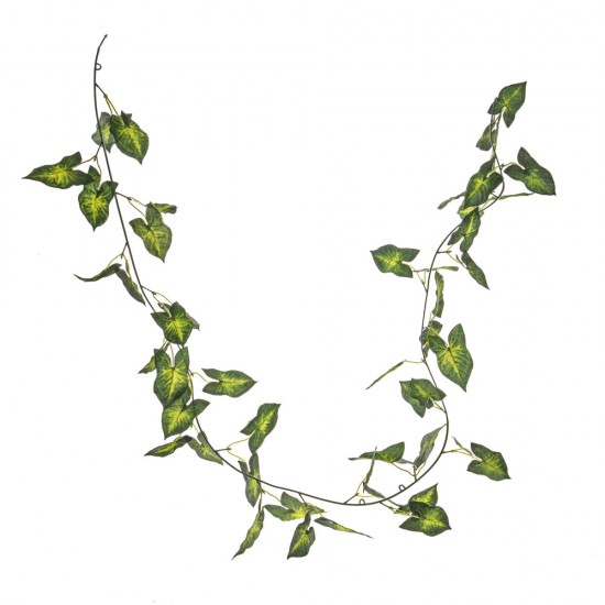 Artificial Anthurium Leaves Garland - ANT004  A1