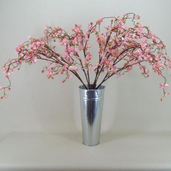 Pink Weeping Cherry Blossom Branch - C018