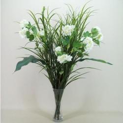 Silk Viburnum | Snowball Flowers Ivory - V003 AA1