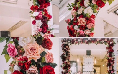 Love is in the air at Jo Loves thanks to Early Hours London Ltd and Decoflora