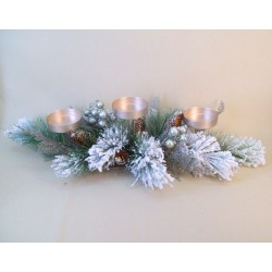 Christmas Centerpiece Candle Holder - 16X060