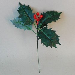 Artificial Holly Pick - 17X088