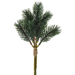 Artificial Christmas PE Pine Picks x 3 - X19090