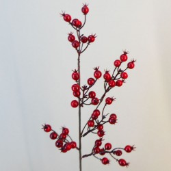 Artificial Christmas Berries Red 62cm - X21071