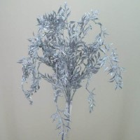 Silver Artificial Leaves and Foliage