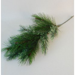 Artificial Christmas Spruce Branch with Bloom -  X19020