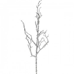 Artificial Twig Branch Silver 58cm - X19078