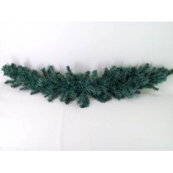 4' Plain Pine Christmas Swag Green - X108