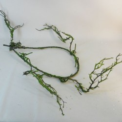 Artificial Twig Garland Moss Covered 135cm - 18X048