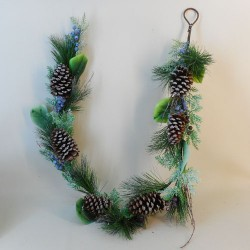 Blueberry Christmas Garland 150cm - 17X198