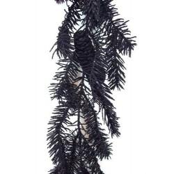 Glitter Angel Pine Christmas Garland Black - X088