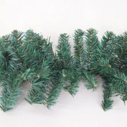 9' Plain Pine Christmas Garland 240 tips - X126