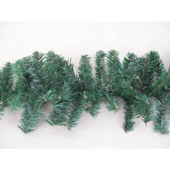 9' Plain Pine Christmas Garland 240 tips - X126 BAY3