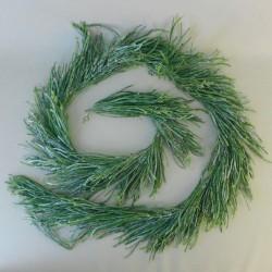 Christmas Garland Glitter Grass and Berries 180cm - X21021