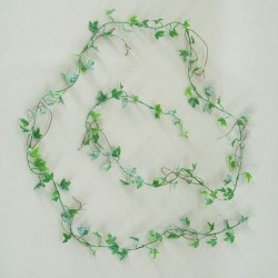 Mini Frosted Artificial Ivy Garland - 13X016