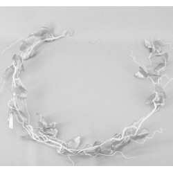 Silver Sparkle and Lace Butterflies Garland - 15X047 XM8
