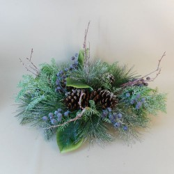 Blueberry Christmas Table Decoration - 17X199