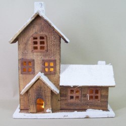 The Old Farmhouse with 10 LED lights - 14X021
