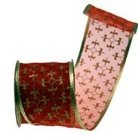 Christmas Ribbons and Beads