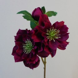 Artificial Hellebore Stem Wine - X19008