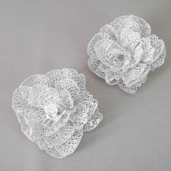 Christmas Bauble Flower 2 Pack - 13X057