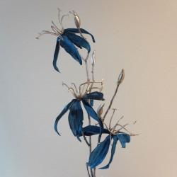 Velvet Gloriosa Midnight Blue - X20015