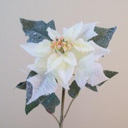 Snowy White Christmas Poinsettias - 16X025