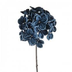 Velvet Hydrangeas Midnight Blue - X19080