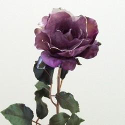 Vintage Gossamer Rose Aubergine - 13X033