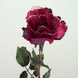 Vintage Gossamer Rose Cranberry Red - 13X036