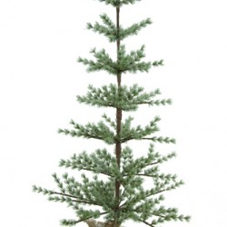120cm Iced Spruce Christmas Tree - 13X056