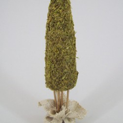 Mini Burlap Christmas Tree - X134