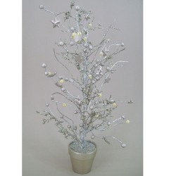 Twig and Berry Christmas Tree Champagne Gold - X030c