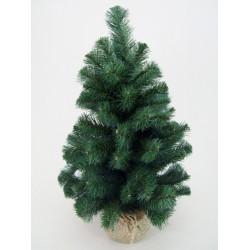 Pine Burlap Christmas Tree - X133 XM1