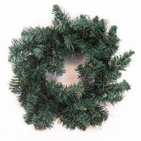 12'' Plain Pine Christmas Wreath Green - X102