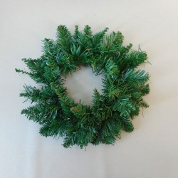 11'' Plain Pine Christmas Wreath Green - 18X064