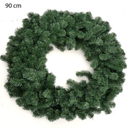 90cm Artificial Pine Christmas Wreaths PVC - 15X027