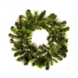 Luxury Mixed Pine Christmas Wreath Green 60cm - 14X037