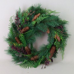 Timberland Artificial Christmas Wreath 50cm - 15X020