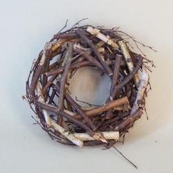 30cm Rustic Twiggy Wreath - BKT019