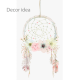 40cm Natural Wreath with Mesh Dream Catcher Effect - DRE001