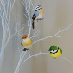 9cm Clip on Garden Birds Pack of 3 - BIR024