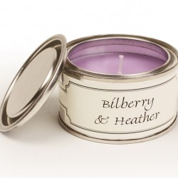 Pintail Paint Pot Candles | Bilberry & Heather Fragrance - CA002