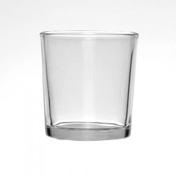 Clear Glass Tealight Votive Candle Holder - GL071 7B