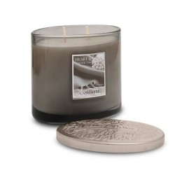 Heart and Home Ellipse Twin Wick Candle Cashmere 230g - HH083