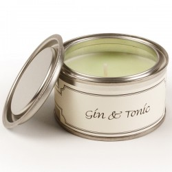 Pintail Paint Pot Candles | Gin & Tonic Fragrance - CA007