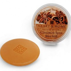 Heart and Home Fragranced Wax Melts Cinnamon Spice HH049