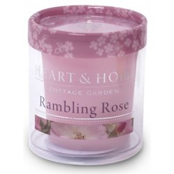 Heart and Home Fragranced Candles Rambling Rose Votive - HH011