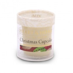 Heart and Home Fragranced Candles Christmas Cupcake Votive - HH075