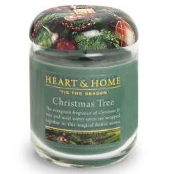 Heart and Home Fragranced Candles Christmas Tree Large Jar 320g - HH069